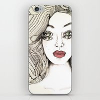 charmaine iPhone & iPod Skins featuring Confessions by Hailey Jayne