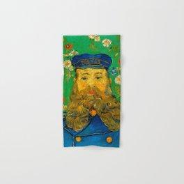 """Vincent van Gogh """"Portrait of Joseph Roulin"""" Hand & Bath Towel"""