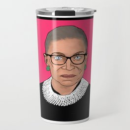 Queen of Dissent Travel Mug
