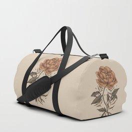 Peony and Ferns Duffle Bag