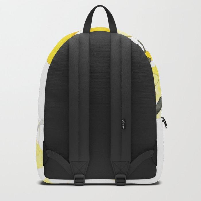 Golden Ginkgo Leaves Backpack