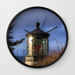 Cape Meares Lighthouse Wall Clock
