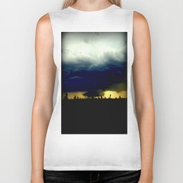 Wall Cloud  Biker Tank
