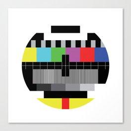 Mire - Testcard - Big Bang Theory Canvas Print