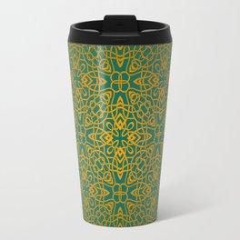 70's style Celtic Knotwork Travel Mug