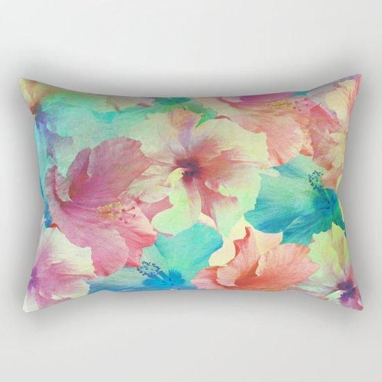 Hibiscus Dream #2 Rectangular Pillow