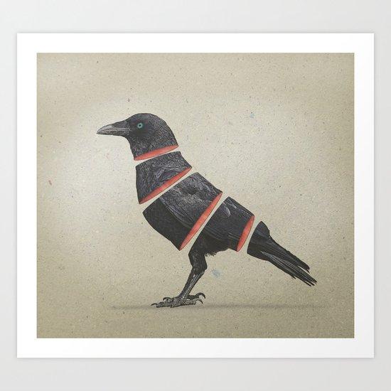 Raven Maker Art Print