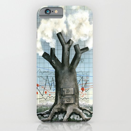 Wood fire iPhone & iPod Case