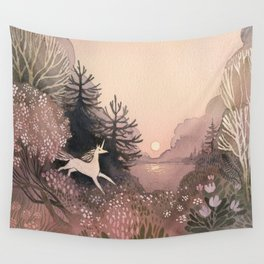 Blooming Forest Wall Tapestry