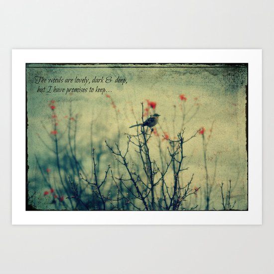 The Woods... Art Print
