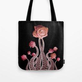 Octo Roses Version 2 Tote Bag