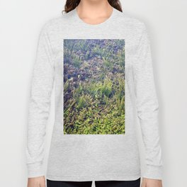 Going With The Flow River Aquarium Long Sleeve T-shirt