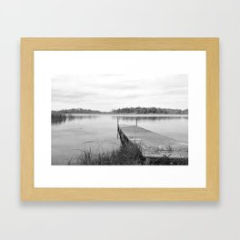 Let's Stay Here Awhile Framed Art Print