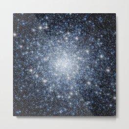 Globular Cluster Metal Print