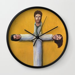 Trifecta - Cross Joint from Pineapple Express Wall Clock