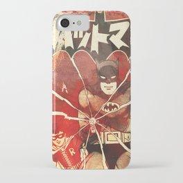 Bat Man (Manga) iPhone Case