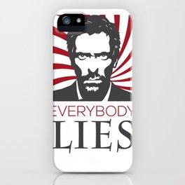 Dr. House M.D. - Hugh Laurie iPhone Case