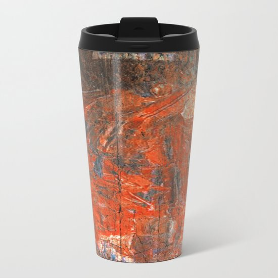 Xipe Totec Metal Travel Mug