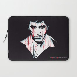 Scarface movie portrait Laptop Sleeve