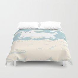 Cat Cloud Duvet Cover