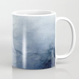 Indigo Abstract Painting | No.2 Coffee Mug
