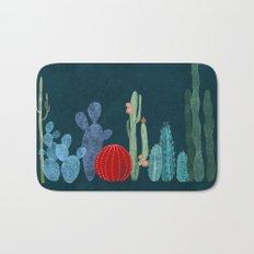 Cactus garden Bath Mat
