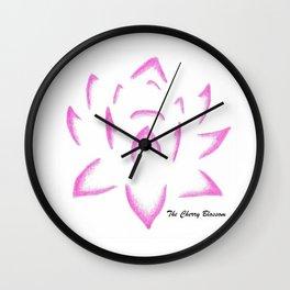 Fiore di loto Wall Clock