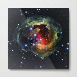 Echo Light of a Stellar Outburst Metal Print