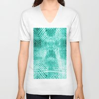 tie dye V-neck T-shirts featuring Tie Dye  by Jenna Davis Designs