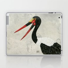 Saddle-billed Stork Quinn 2 Laptop & iPad Skin