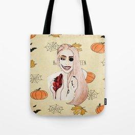Happy Halloween (smile)  Tote Bag