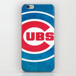 Chicago Cub : Up-and-coming, Promising, Exciting, Committed and Unpredictable iPhone Skin