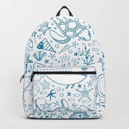 Underwater pattern Backpack