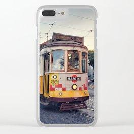 Tram 28 Clear iPhone Case