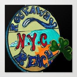 Happy ST.Patricks  day From Rockaway Beach Canvas Print