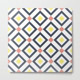 Rhombus pattern 3 Metal Print