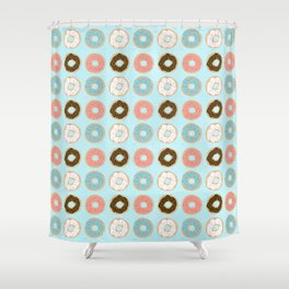 Sweet Sprinkled Donuts Shower Curtain