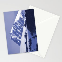 Back-Country Skiing - 8 Stationery Cards