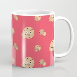 Smiling Chocolate Chips Cookies Pattern Coffee Mug