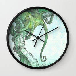 Fish Are Stupid Wall Clock