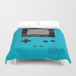 Gameboy Color - Teal Duvet Cover