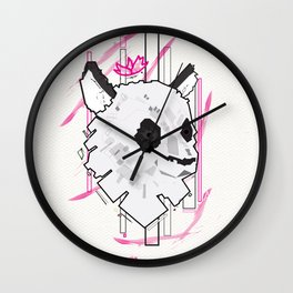 Queen Panda Wall Clock