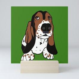 Basset Hound Mini Art Print