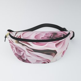 Peonies Illustration Fanny Pack