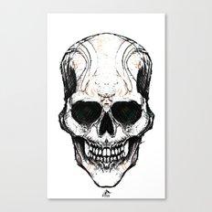Skully #1 Canvas Print
