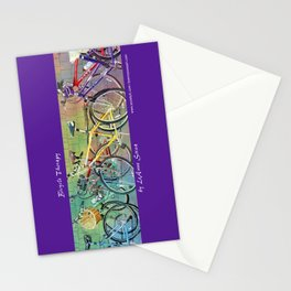 Bicycle Therapy Stationery Cards