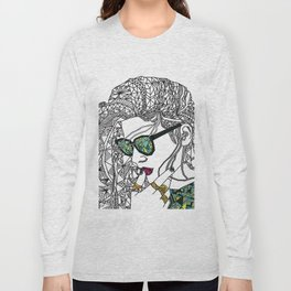 Geometry and colours Long Sleeve T-shirt