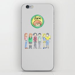 Daria and Friends iPhone Skin
