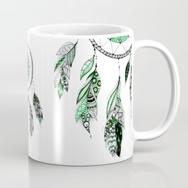 Green dreamcathcer Coffee Mug
