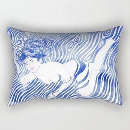 Water Nymph XVII Rectangular Pillow